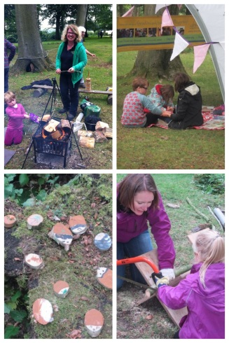 Forest School Wild Wood 2015